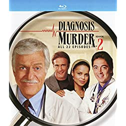 Diagnosis Murder// Season 2 [Blu-ray]
