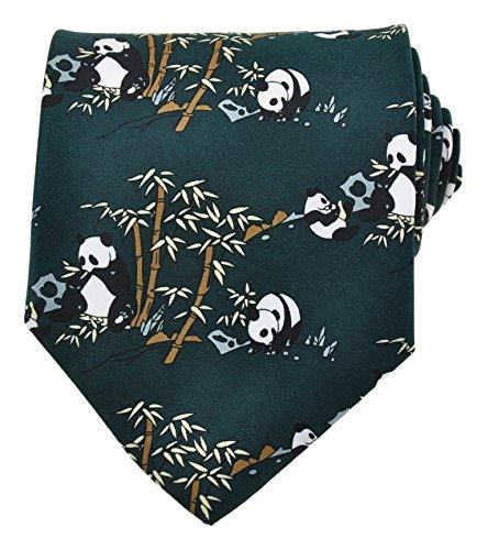Panda Novelty Tie