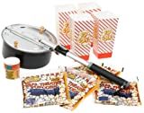 Open Fire Pop Popcorn Popper