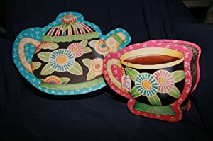 Mary Engelbreit Cup of Kindness Pot of Tea Decorative Box Set