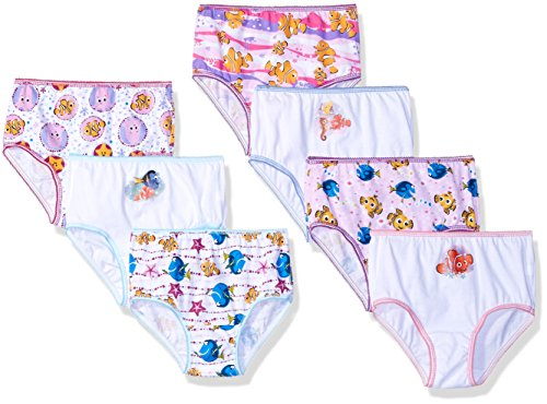 Disney Girls' Finding Dory Toddler 7 Pack Panty