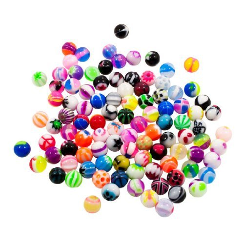 lot of 10 or 5 sets of Bright color Random mix balls for Belly button navel Industial twist barbell horseshoe lip monroe pregnancy bar piercings body jewelry 16g brown color silicone fake belly artificial belly for simulate pregnancy to adoption baby or surrogacy