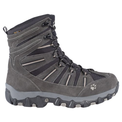 JACK WOLFSKIN Snow Trekker Texapore Men's Hiking Boot, Grey, US8.5