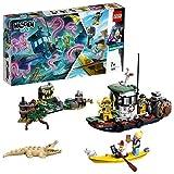 LEGO 70419 Hidden Side Gekenterter Garnelenkutter Kinderspielzeug, Augmented Reality Funktionen - LEGO