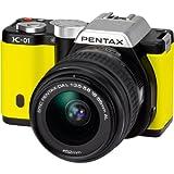 PENTAX デジタル一眼カメラ K-01ズームレンズキット ブラック/イエロー K-01ZK BK/YE
