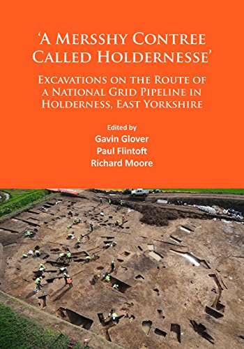 a-mersshy-contree-called-holdernesse-excavations-on-the-route-of-a-national-grid-pipeline-in-holdern