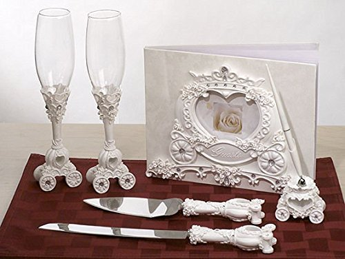 Wedding Coach Theme Set C416419 Quantity of 1