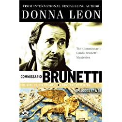 Donna Leon's Commissario Guido Brunetti Mysteries - 17 & 18