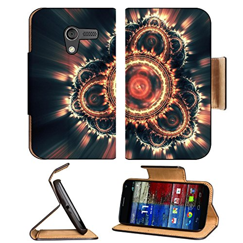 Patterns Range Light Shine Glow Motorola Moto X Flip Case Stand Magnetic Cover Open Ports Customized Made To Order Support Ready Premium Deluxe Pu Leather 5 7/16 Inch (138Mm) X 3 1/16 Inch (78Mm) X 9/16 Inch (14Mm) Luxlady Mobility Cover Professional Moto front-541816
