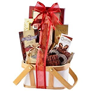 Broadway Basketeers Happy Birthday Chocolate Gift Basket (Petite)