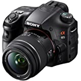 Sony Alpha SLT-A65VL DSLR 24.3MP SLR Camera with 3-Inch LCD Screen and 18-55mm Lens (OLD MODEL)