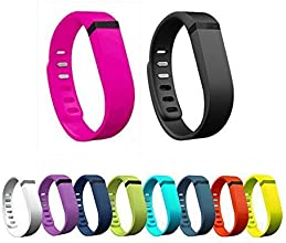 2015 New 10pcs Colorful Replacement Bands With Clasps for Fitbit FLEX Wireless Activity Bracelet Spo