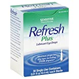 Refresh Plus Lubricant Eye Drops, Sensitive, Single-Use Containers, 30 - 0.01 fl oz (0.4 ml) containers