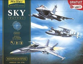 Heller - 52312 - Maquette - Avion - Sky Patrol - Echelle 1/144