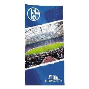 FC Schalke 04 2456-21-8-08 Velourstuch 'Stadion'