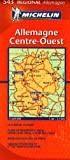 echange, troc Michelin - Allemagne Centre-Ouest : 1/350 000