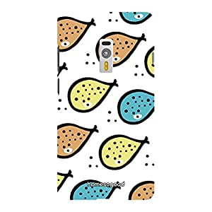 HomeSoGood Beautiful Fish Painting Multicolor Pattern For OnePlus 2 (Back Cover)
