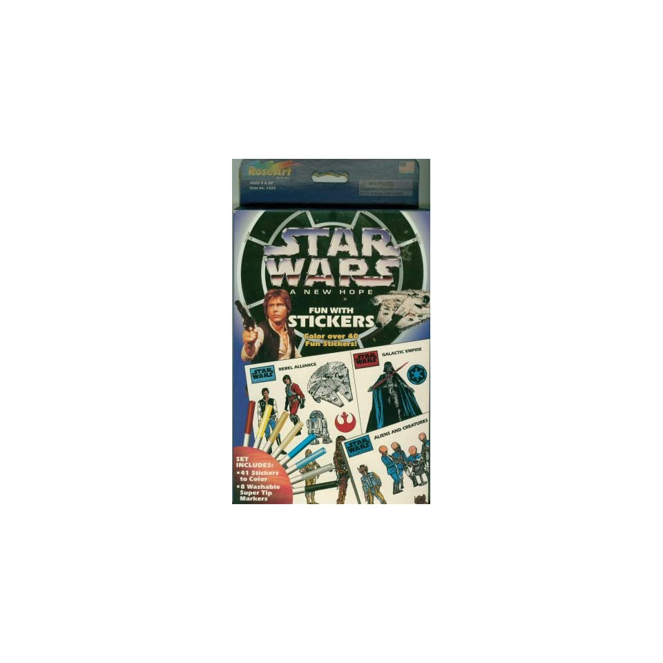 Star Wars Fun With Stickers