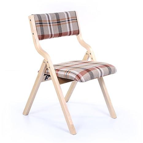Fashion Folding Sessel Study Schreibtisch Computer Solid Holz Ruckenlehne Freizeit Stuhl Esszimmer Stuhl