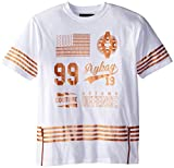 Akademiks Mens Big-Tall Dakota Copper T-Shirt