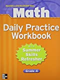 Math Daily Practice: With Summer Refresher Grade 4 (002104967X) by Macmillan