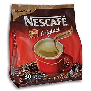 Nescafé IMPROVED 3 in 1 ORIGINAL (was named REGULAR) Premix Instant Coffee - Creamier Coffee Taste & More Aromatic - 19g/Stick - 30 Sticks TOTAL