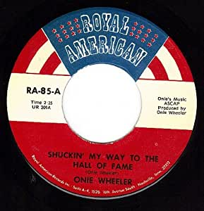 Shuckin My Way To The Hall Of Fame/I Can't Pass An Orchard (VG+/++ 45 rpm)