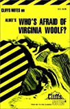 img - for Notes on Albee's Who's Afraid of Virgina Woolf? (Cliffs notes) by Cynthia C. McGowan (1979-06-07) book / textbook / text book