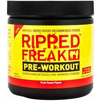 Ripped Freak Pre-Workout (Pre-Workout - Fruit Punch)