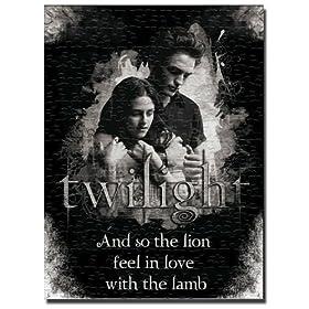 Twilight Magnetic Poster Puzzle Edward & Bella