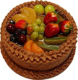 Chocolate Fake Fruit Cake 9 Inch