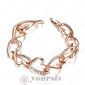 Netsripaiboon fashion jewelry hot sale 18k rose gold for Selling jewelry on amazon