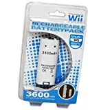 Nintendo Wii Compatible 3600mAh Rechargable Controller Battery Pack