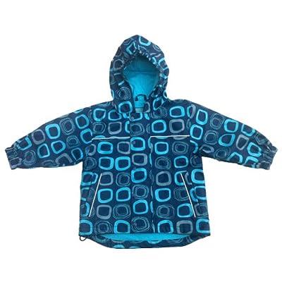 Koolsun Boys Raincoat, Waterproof, Navy/Grey
