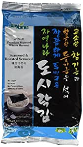 Korean Seaweed 0.7 oz (20g) (Pack of 4)