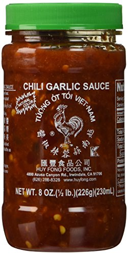 Huy Fong Fresh Chili Garlic Sauce 8.0 OZ(Pack of 4) (Huy Fong Garlic Chili Sauce compare prices)