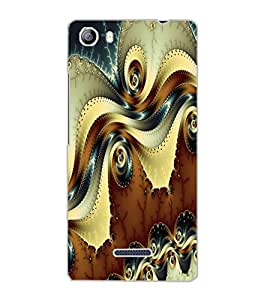 MICROMAX CANVAS 5 PATTERN Back Cover by PRINTSWAG