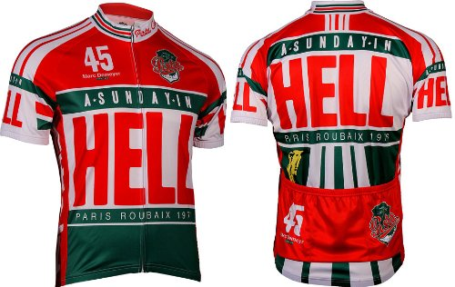 Retro Men's Sunday in Hell Cycling Jersey