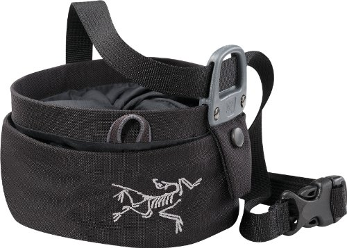 Arc'teryx Aperture Chalk Bag - Black Large
