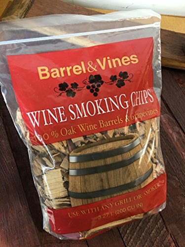 Wine Smoking Chips from California Vineyards (Wine Barrel Wood compare prices)