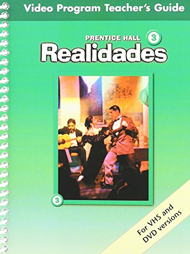 PRENTICE HALL SPANISH REALIDADES VIDEO PROGRAM DVD LEVEL 3 FIRST        EDITION 2004C