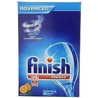 Finish Powder Dishwasher Detergent, Orange Fresh, 75 Ounces (Pack of 2)
