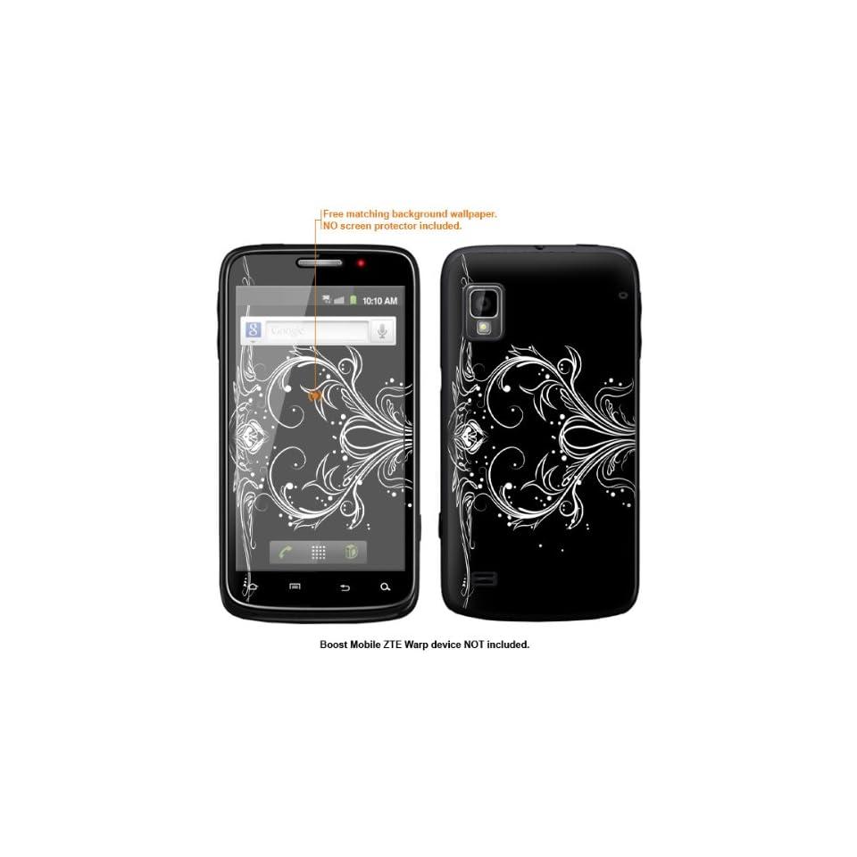 Protective Decal Skin Sticker for ZTE Warp  Boost Mobile version  case cover ZTEwarp 322