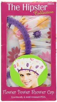Betty Dain Stylish Design Mold Resistant Shower Cap