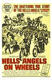HELLS ANGELS ON WHEELS - Jack Nicholson - US Imported Movie Wall Poster Print - 30CM