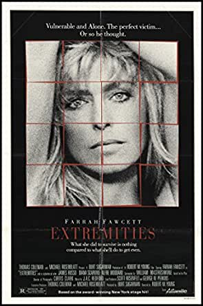 Extremities 1986 ORIGINAL MOVIE POSTER Drama Thriller - Dimensions: 27