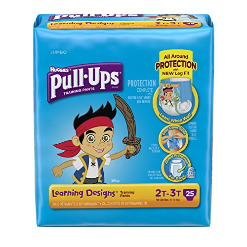 Huggies Pull-Ups Training Pants - Learning Designs - Boys - 2T-3T - 25 ct - 1