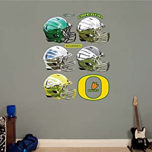 NCAA Oregon Ducks Helmet Collection Wall Graphic by Fathead