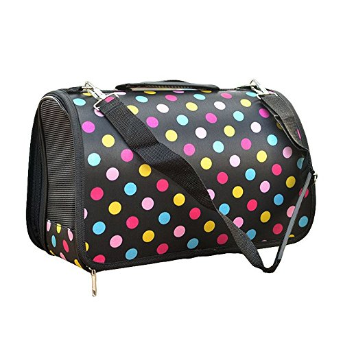 Foldable Pet Carrier – Soft Comfort Carrier Travel Bag House Kennel for Cat Dog Pets Up to 5/9/16 lbs Color Optional and 3 Sizes