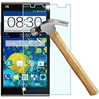 AMASELL ZTE Grand X Max Z787, X Max+ Z987 MAX Plus Tempered Glass Screen Protector, 9H Hardness 0.3mm Thickness Anti-explosion Film Guard for ZTE X Max Z787, X Max+ Z987 MAX Plus